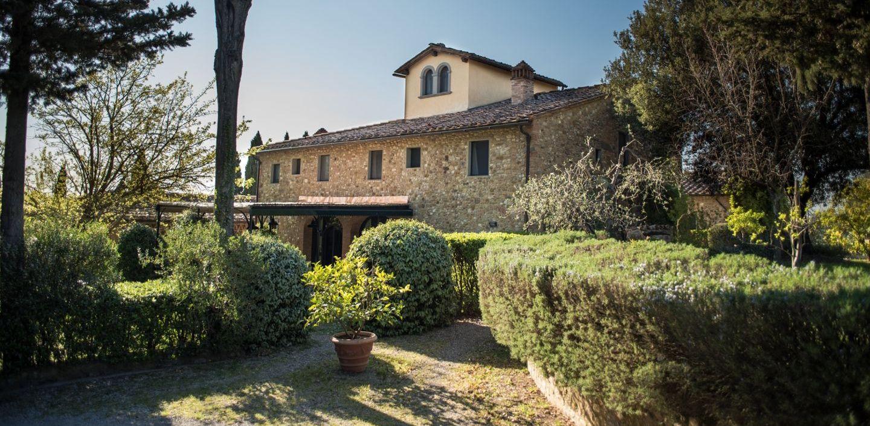 Our villa at Il Borghetto